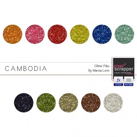 Cambodia Glitters Kit