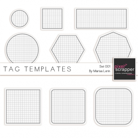 Tag Templates Kit #1