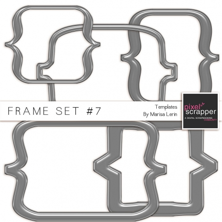 Frame Templates Kit #7 - Plastic Brackets