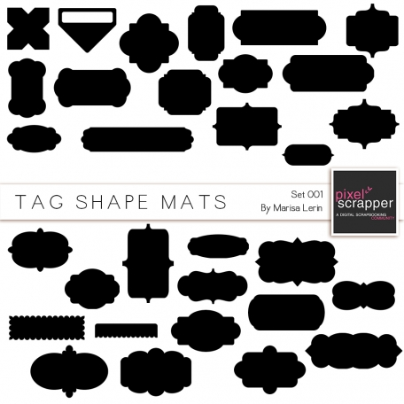 Tag Shapes Kit #1