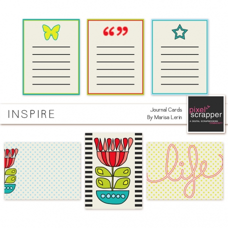 Inspire Journal Cards Kit