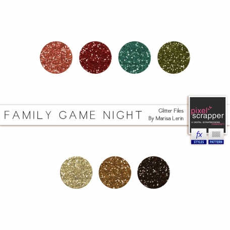 Family Game Night Glitters Kit