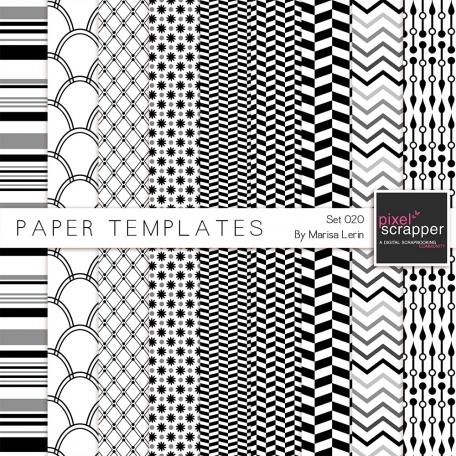 Paper Templates Kit #20