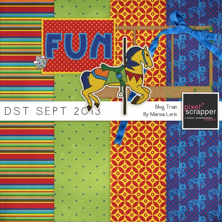 DST September 2013 Blog Train Mini Kit