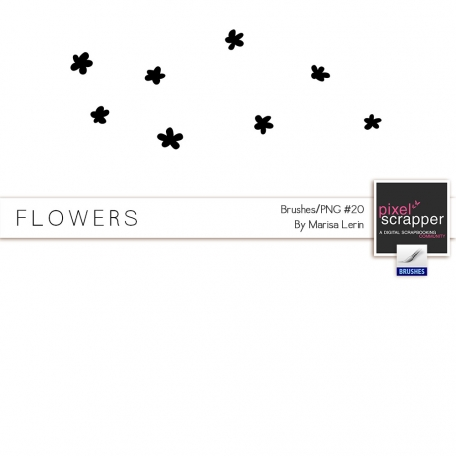 Brush Kit #20 - Flowers