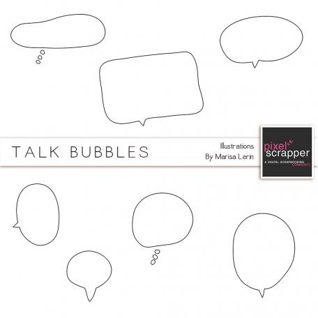 Talk Bubbles Kit