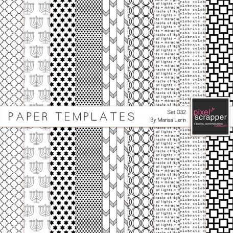 Paper Templates Kit #32
