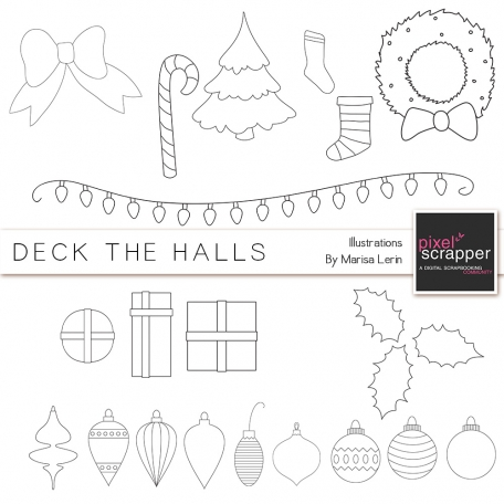 Christmas Illustrations Kit