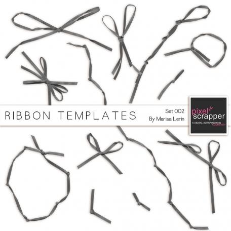 Ribbon Templates Kit #2