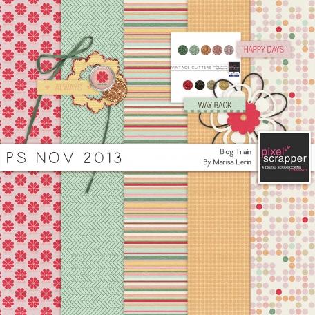 November 2013 Blog Train Mini Kit