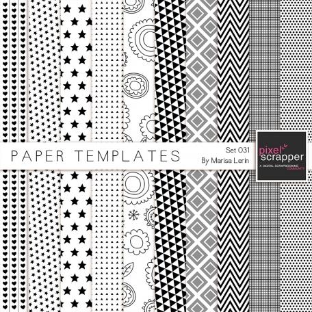 Paper Templates Kit #31