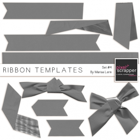 Ribbon Templates Kit #4