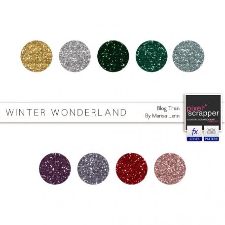 Winter Wonderland Glitters Kit