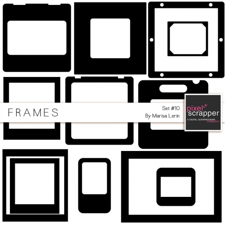 Frame Templates Kit #10