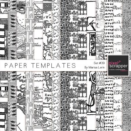 Paper Templates #39 Kit