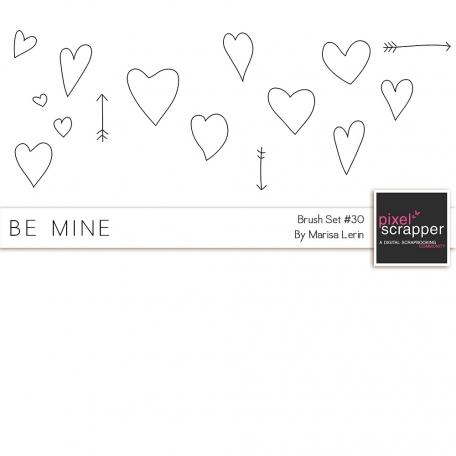 Brush Kit #30 - Heart Doodles