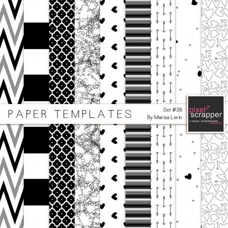 Paper Templates #38 Kit