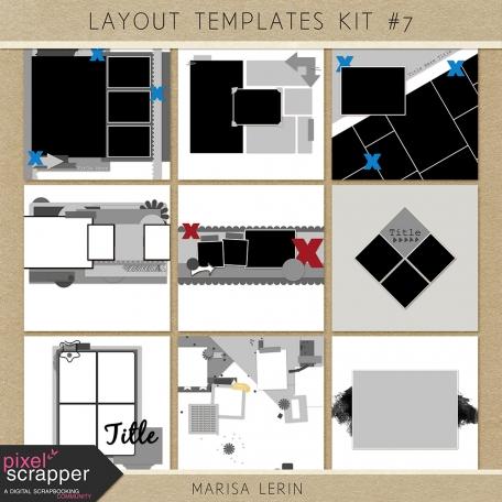 Layout Templates Kit #7