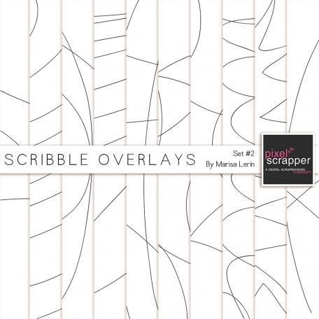 Scribble Overlays Kit #2