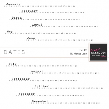Dates Kit #2