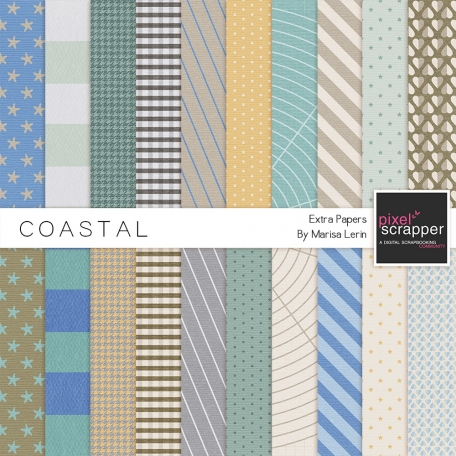 Coastal Extra Papers Kit