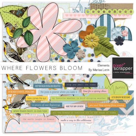 Where Flowers Bloom Elements Kit