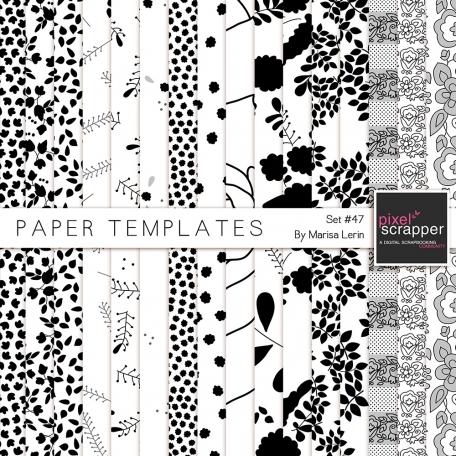 Paper Templates Kit #47