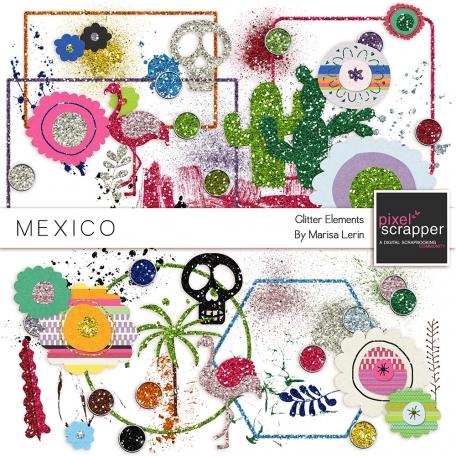 Mexico Glitter Elements Kit