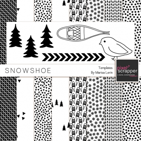 Snowshoe Templates Kit