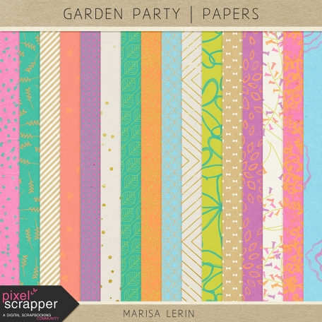 Garden Party Papers Kit
