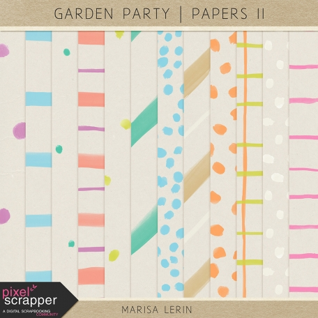 Garden Party Papers Kit II