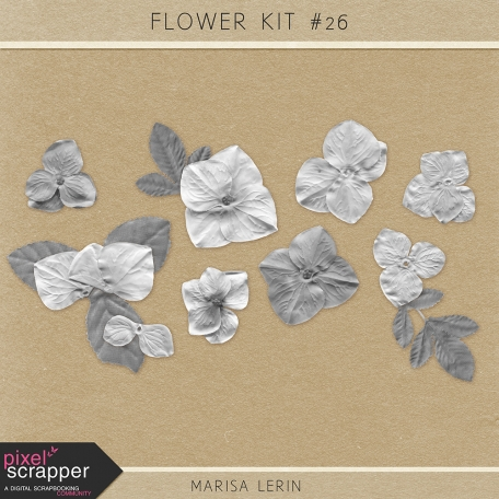 Flower Templates Kit #26