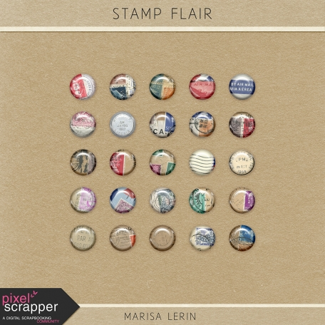 Stamp Flairs