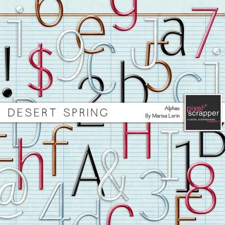 Desert Spring Metal Alpha Kit
