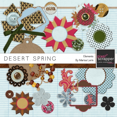 Desert Spring Elements Kit