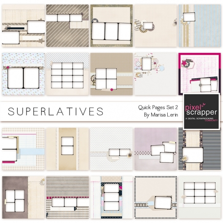Superlatives Quick Pages 21-40 Kit