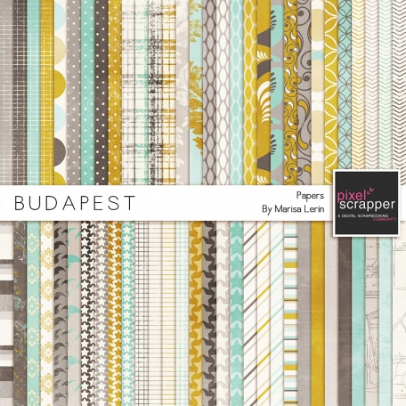 Budapest Papers Kit