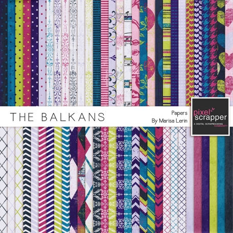 The Balkans Papers Kit