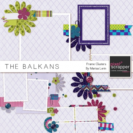 Balkans Frame Clusters