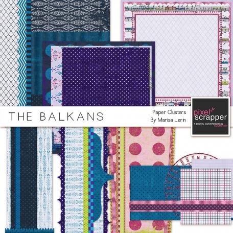 Balkans Paper Clusters