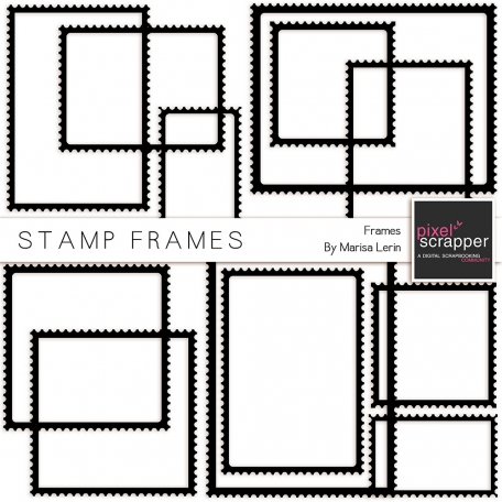 Stamp Frame Template Kit