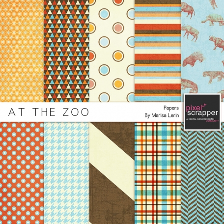 At the Zoo Papers Kit