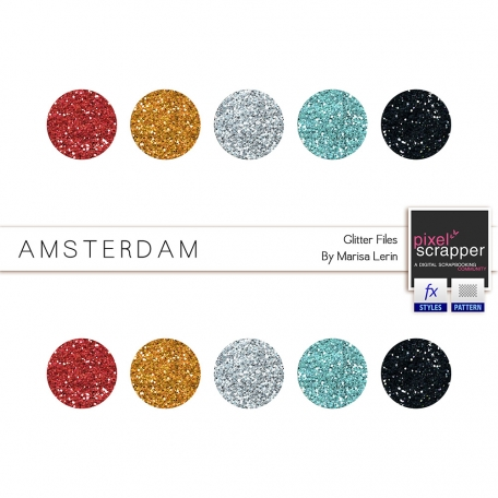 Amsterdam Glitters Kit