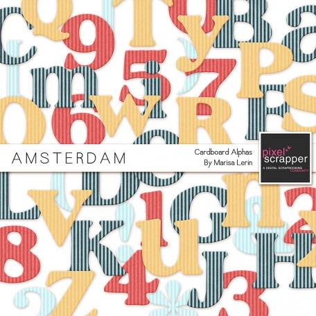 Amsterdam Cardboard Alphas Kit