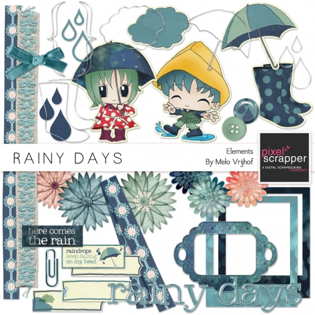 Rainy Days Elements Kit