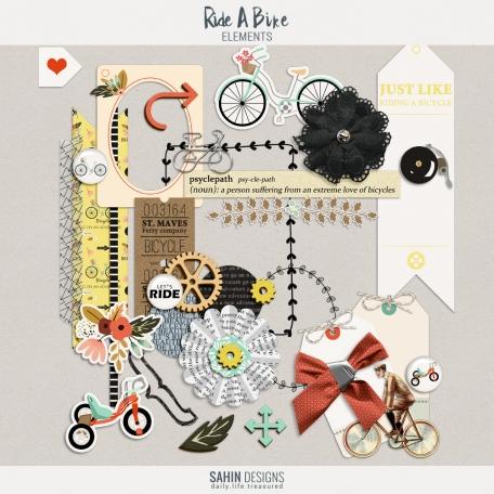 Ride A Bike {elements}