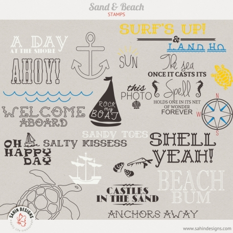 Sand & Beach | Stamps