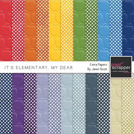 It's Elementary, My Dear - Extra Papers Kit