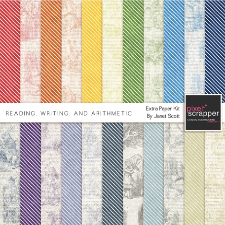 Reading, Writing, and Arithmetic - Extra Papers Kit