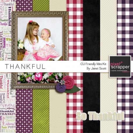 Thankful - October 2013 Blog Train
